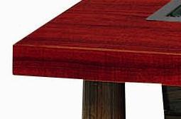 共張りテーブル