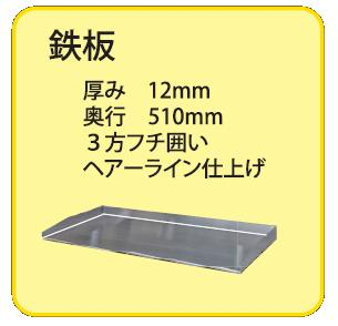鉄板サイズ